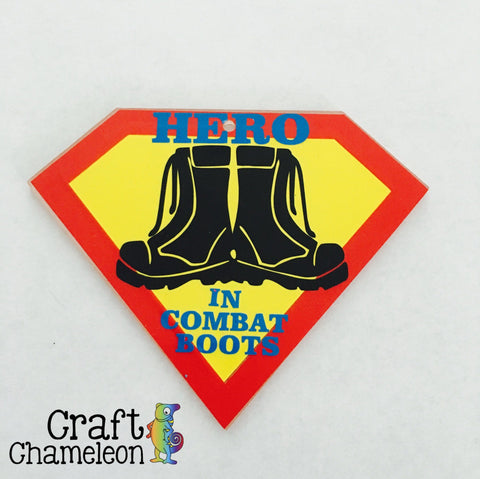 Acrylic Hero Shape - CraftChameleon  - 1