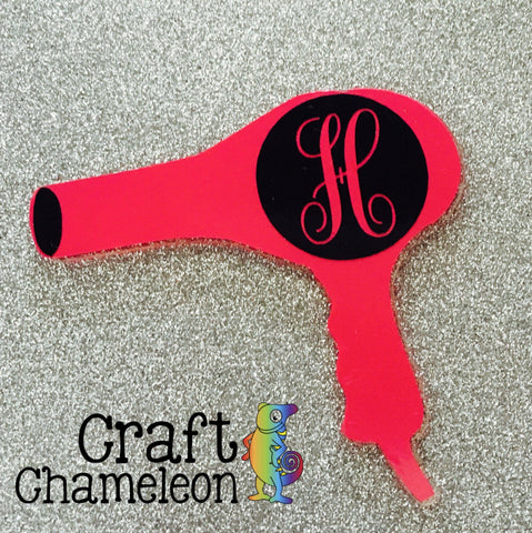 Acrylic Shape Hair Dryer Blow Dryer - CraftChameleon  - 1