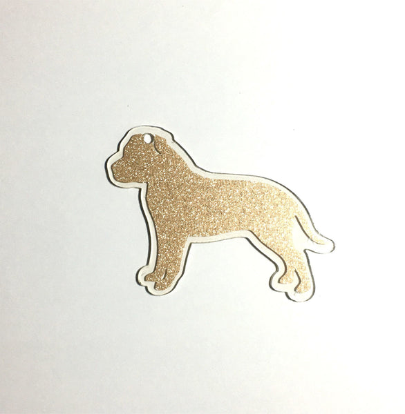 Pitbull Dog Acrylic Shape - CraftChameleon