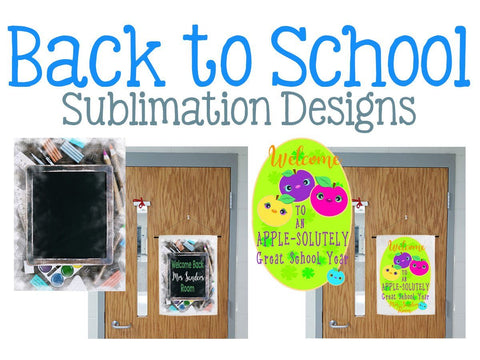 Back to School Sublimation Digital Design