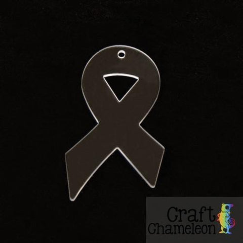 "Set of 5 ~ 3"" Awareness Ribbon Acrylic Shape - CraftChameleon  - 1"