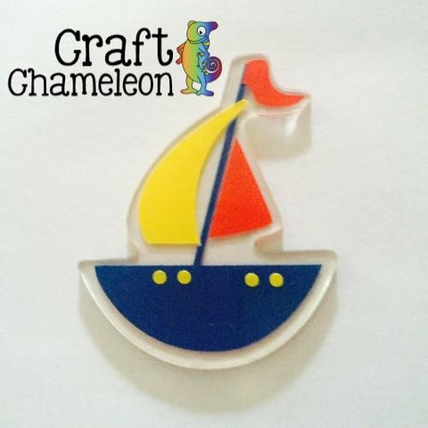 Sailboat/Pirate Ship Acrylic Shape - CraftChameleon  - 1