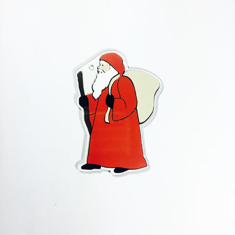 Saint Nicholas Shaped Acrylic - CraftChameleon