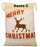 Santa Sacks - Christmas Bags - Ready for you monogram or personalize - CraftChameleon