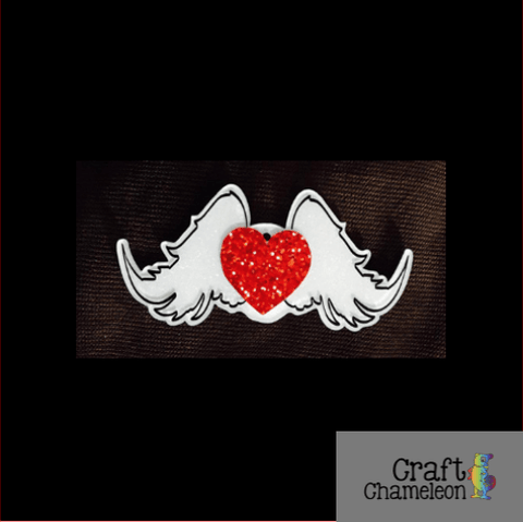Angel Wings Acrylic Shape - CraftChameleon  - 1