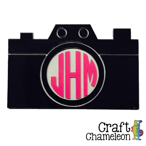 Camera Acrylic Shape - CraftChameleon  - 1