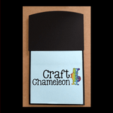 Acrylic Post it Note Pad Holders - CraftChameleon  - 1