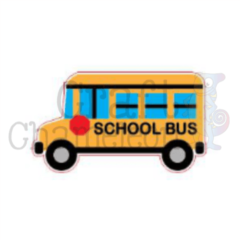 Acrylic Shaped School Bus - CraftChameleon  - 1