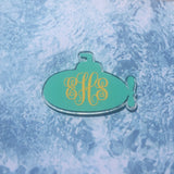 Submarine Shaped Acrylic - CraftChameleon  - 1
