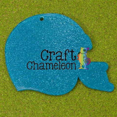 "3 "" Acrylic Shaped Football Helmet - CraftChameleon  - 1"