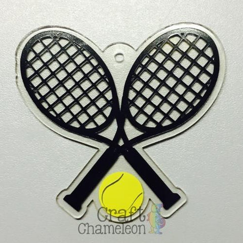 Acrylic Tennis Racquets - CraftChameleon  - 1