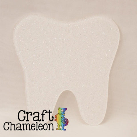 Tooth DIY Acrylic Earrings - CraftChameleon  - 1