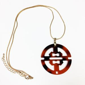 Toney Asian Inspired Acrylic Blank Pendant - Sold in sets of 5 or Necklace Bundles of 5 - CraftChameleon