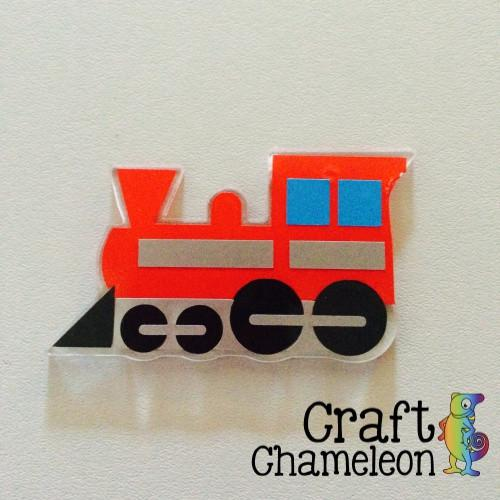 Train Acrylic Shape - CraftChameleon  - 1
