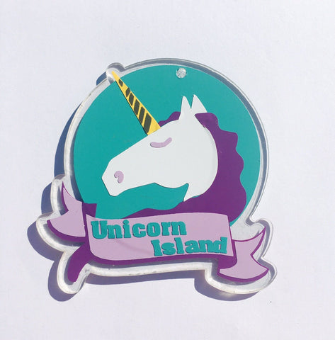 Unicorn Head Shaped Acrylic - CraftChameleon  - 1