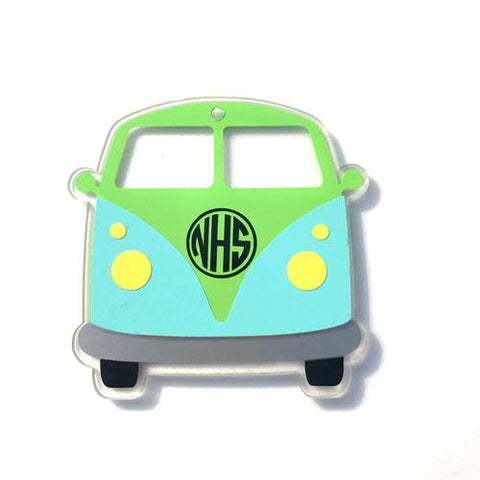 VW Bus Acrylic Shape - CraftChameleon