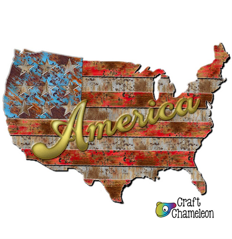 America Sublimation Design Only