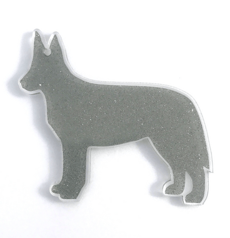 Australian Cattle Dog Acrylic Shape ~ Multiple Sizes