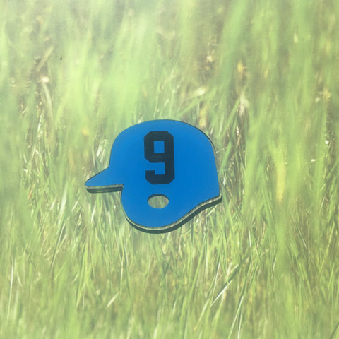 Baseball/Softball Helmet Shaped Acrylic - CraftChameleon  - 1