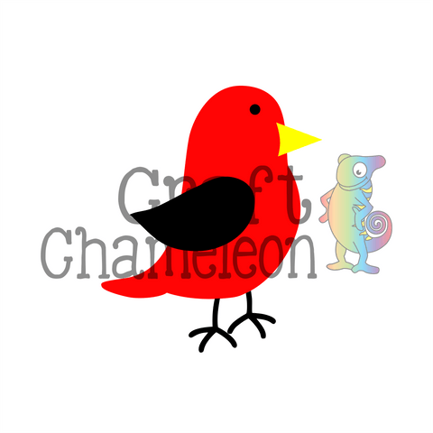 Bird Digital Design - CraftChameleon