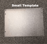 Blank Plastic Template for Etching - CraftChameleon