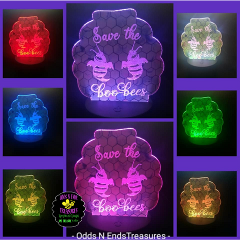 Boo Bees Light Base Design by ONE Designs DESIGN ONLY