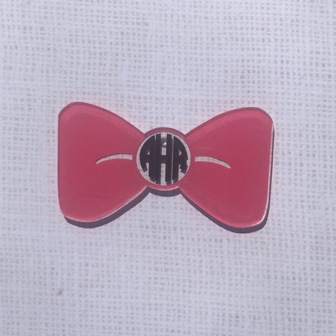 Bow Shaped Acrylic - CraftChameleon  - 1