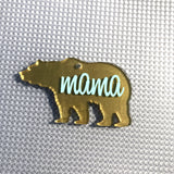 Brown Bear Shaped Acrylic ~ Multiple Sizes - CraftChameleon