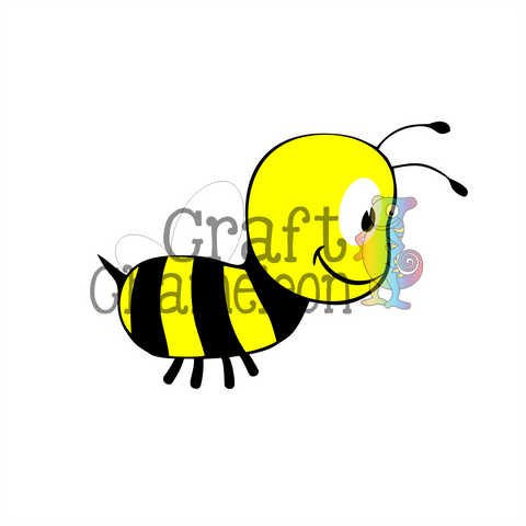 Bumble Bee Digital Design - CraftChameleon