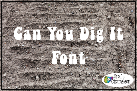 Can You Dig It Font
