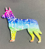Carolina Dog Acrylic Shape ~ Multiple Sizes