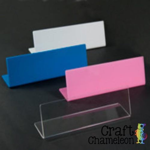 "8"" Acrylic Name Plate - CraftChameleon  - 1"