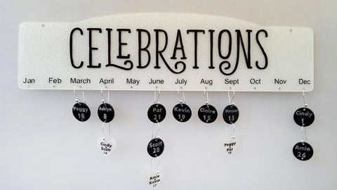 Celebration Birthday Anniversary Family Sign Board - CraftChameleon