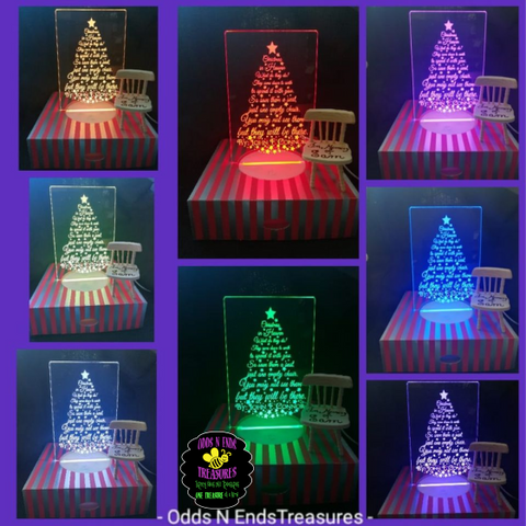 Christmas in Heaven Light Base Design by ONE Designs DESIGN ONLY