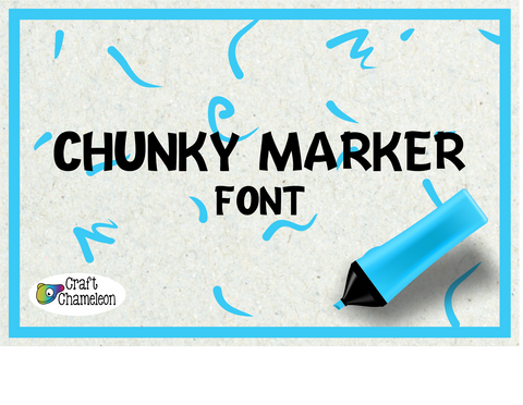 Chunky Marker Font