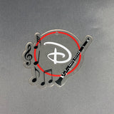 Clarinet with Monogram Area Acrylic Shape