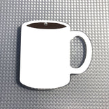 Coffee Mug Shaped Acrylic - CraftChameleon