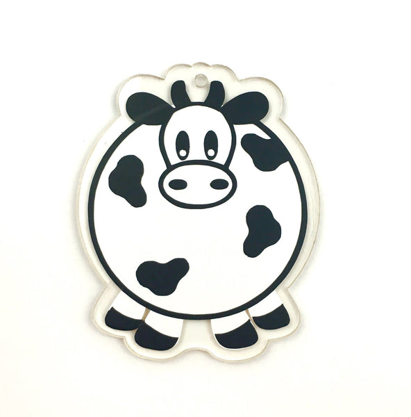 Cow Shaped Acrylic