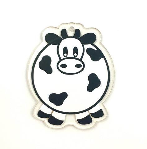 Cow Shaped Acrylic - CraftChameleon