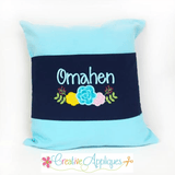 Cotton Canvas Pillow Bands ~ Set of 3 - CraftChameleon