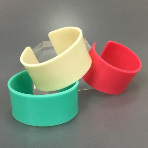 Colored Acrylic Cuffs - CraftChameleon  - 1