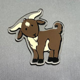 Cute Goat Shaped Acrylic