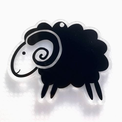 Cute Ram Shaped Acrylic