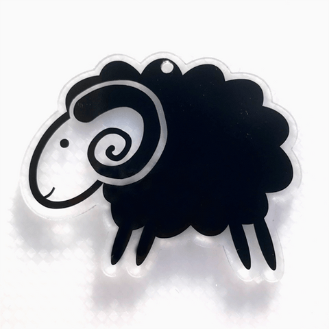 Cute Ram Shaped Acrylic - CraftChameleon