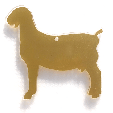 Nubian Goat Shaped Acrylic ~ Multiple Sizes - CraftChameleon