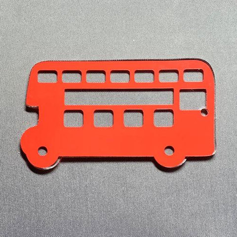 Double Decker Bus Acrylic Blank Shape