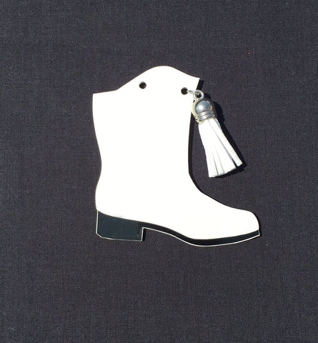 Drill Team Majorette Boot Acrylic Shape - CraftChameleon
