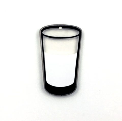 Drinking Glass Acrylic Blank Shape ~ Multiple Sizes