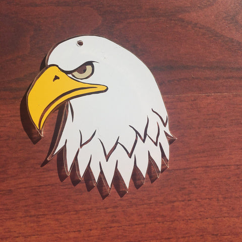 Eagle Head Shaped Acrylic - CraftChameleon  - 1