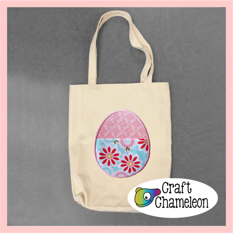 Egg Pocket Embroidery Design Only